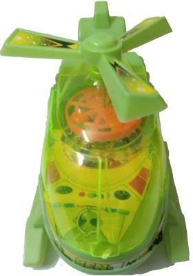 Ben 10 Light emiting Childrens Helicopter(Green)