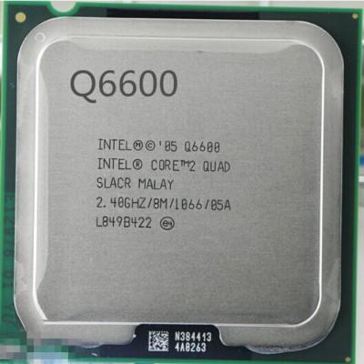 Intel 2.66 GHz LGA 775 Q6600 Processor(Silver)