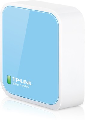 TP-Link TL-WR702N 150 Mbps Wireless N Nano Router (blue) Router(White)  available at flipkart for Rs.2999