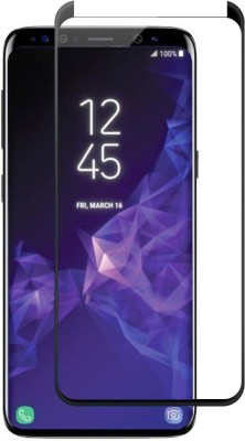Vodex Edge To Edge Tempered Glass for Samsung Galaxy S9(Pack of 1)