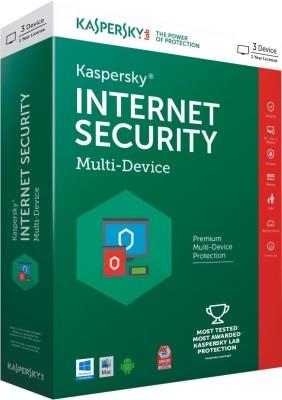KASPERSKY Internet Security 3PC 1 Year