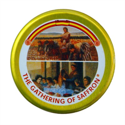 The Gathering of Saffron 100% Pure Spanish Imported Organic Saffron 1 gm(1 g)