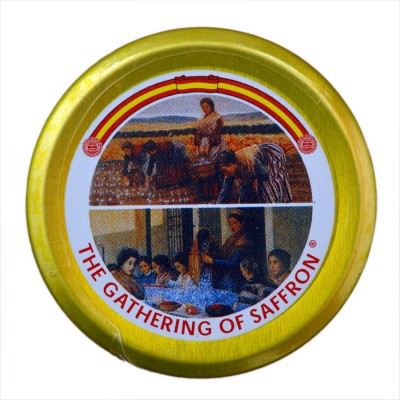 The Gathering of Saffron 100% Pure Spanish Imported Organic Saffron 2 gm(2 g)