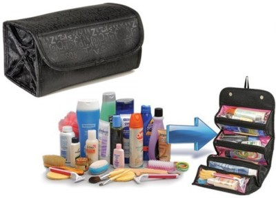 b9ad0c7e6dfa 76% OFF on MANOGYAM Roll-n-Go Jewellery   Cosmetics Organiser   Storage  Travel Bag Travel Toiletry Kit(Multicolor) on Flipkart