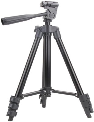 Anweshas Universal Portable Digital Camera Camcorder Tripod Lightweight Aluminum Stand for Canon Nikon Sony ET 3120-in Tripods Tripod(Black, Supports Up to 1500 g)  available at flipkart for Rs.1999