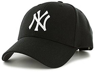 Friendskart Solid Ny Baseball Cap For Boys, Men