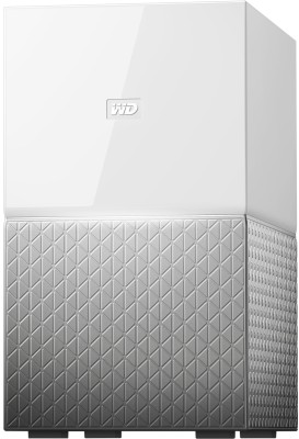 WD My Personal Cloud Home 8 TB External Hard Disk Drive(Grey)