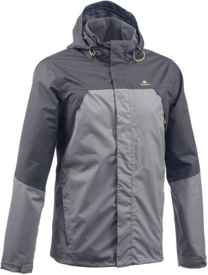 latest discount variety design clearance prices Quechua by Decathlon Full Sleeve Solid Men's Jacket
