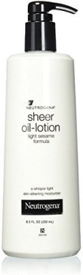Neutrogena Sheer Oil-Lotion Skin-Silkening Moisturizer(251.38 ml)