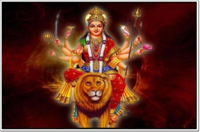 MAA DURGA POSTER Photographic Paper(12 inch X 18 inch, ROLLED)  available at flipkart for Rs.150