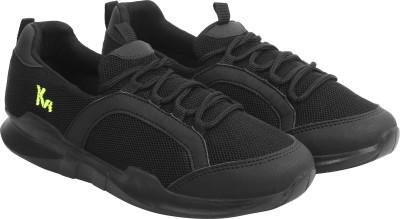 KazarMax Trendy Sneakers For Women(Black)