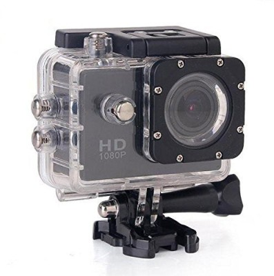 RFV1 (tm) Full HD 1080P Sports DV Action Waterproof Sports and Action Camera(Black 12 MP)