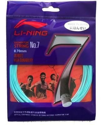 Li Ning No. 7 Badminton String   Cyan 0.65 Badminton String   10 m
