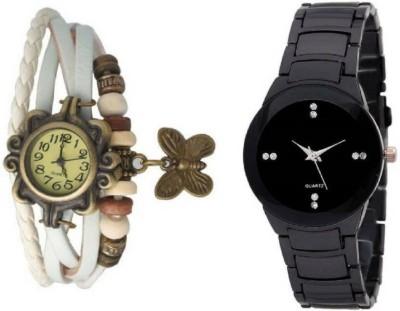 MAPA STYLE Attractive Stylish Full Black And White Dori Women Analog Watch Girls Analog Watch MPSTYLE 116 Watch  - For Women