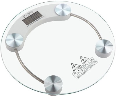 JM SELLER Digital Weighing Scale (8MM Thick Tempered Glass) Weighing Scale(aqua)  available at flipkart for Rs.565
