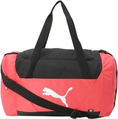 81e286dc06 12% OFF on Puma Fundamentals Sports Small Travel Duffel Bag(Pink) on  Flipkart
