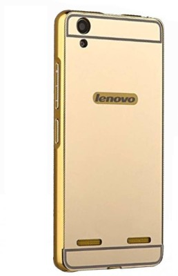 Gatasmay Back Cover for Lenovo A 7000 K3 NOTE MIRROR(GOLDEN, Hard Case, Metal)
