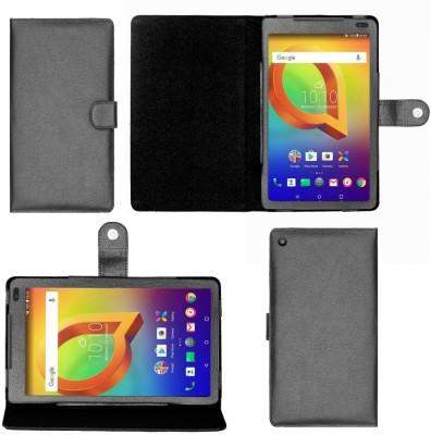 Gizmofreaks Flip Cover for Alcatel A3 10 10.1 inch(Black, Artificial Leather)