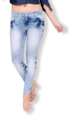 Fourgee Slim Women Blue Jeans