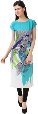 Glance Designs Festive & Party Printed Women Kurti(Multicolor)
