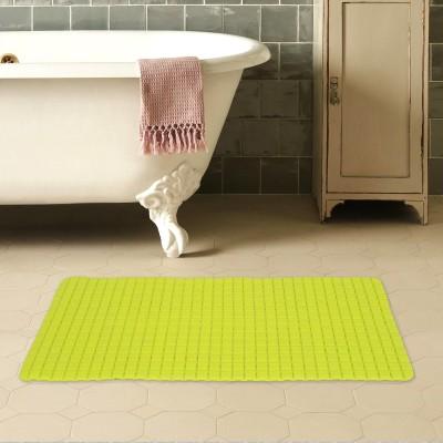 Story@Home PVC Bathroom Mat(Neo Green, Medium) at flipkart