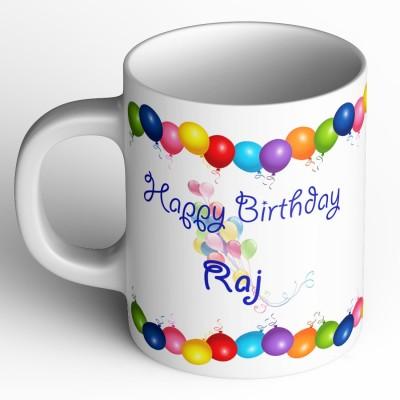 11 Off On Raj Laxmi Happy Family White Mug Ceramic Mug 350 Ml On