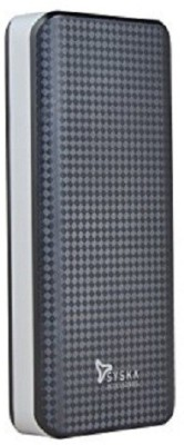 Syska Power Shell 100 Power Bank, 10000 mAh (Black-Grey)