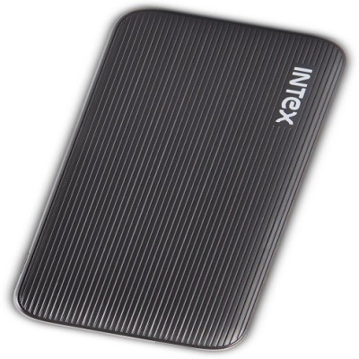 Intex 6000 Power Bank (PB-6K.POLY, PB-6K.POLY)(Black, Lithium-ion)