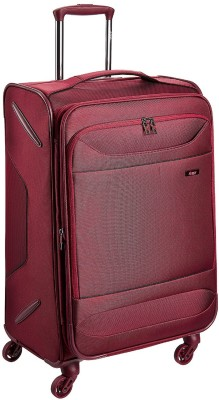 VIP Duolife Polyester 40 Ltrs Garnet Carry-On Check-in Luggage - 40 inch(Red)