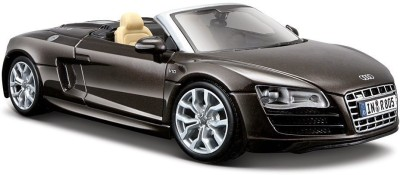 Tabu Maisto 1:24 Audi Scale R8 Spyder Diecast Car(Brown)  available at flipkart for Rs.2499
