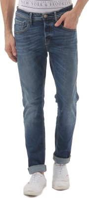 Selected Skinny Men Blue Jeans at flipkart
