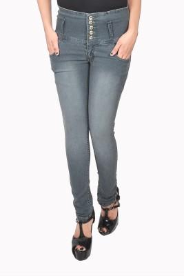 Nifty Skinny Women Grey Jeans at flipkart