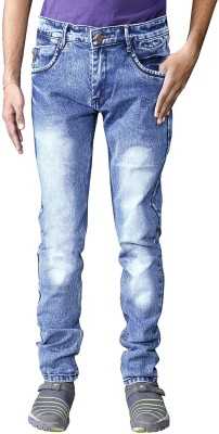 Ragzo Slim Men Light Blue Jeans
