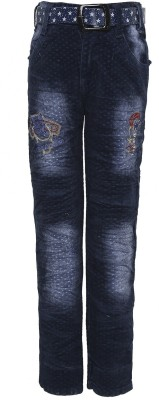Punkster Regular Boys Blue Jeans