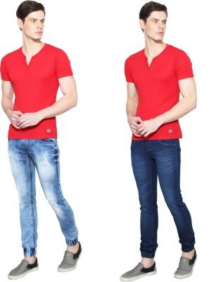 Ansh Fashion Wear Jogger Fit Men Dark Blue Jeans