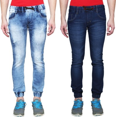Rock Hudson Regular Men's Blue Jeans(Pack of 2) at flipkart