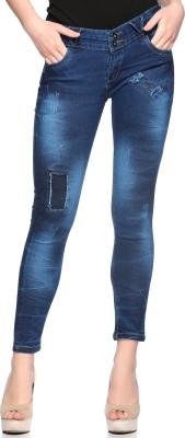 FASNOYA Skinny Women Dark Blue Jeans FASNOYA Women\'s Jeans