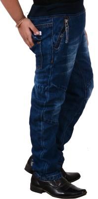 Guchu Regular Boys Blue Jeans