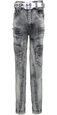 Punkster Regular Boys Grey Jeans