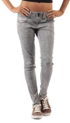 Pepe Jeans Skinny Women Grey Jeans at flipkart