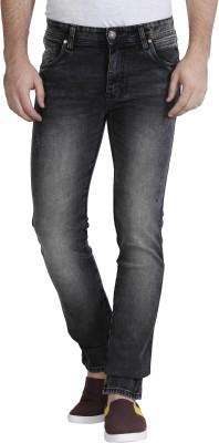 Raa Jeans Slim Men's Black Jeans