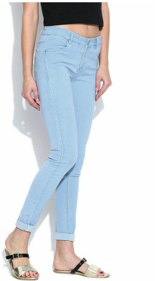 Ico Blue Star Slim Women Light Blue Jeans