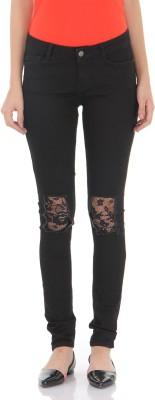 Vero Moda Regular Women Black Jeans at flipkart