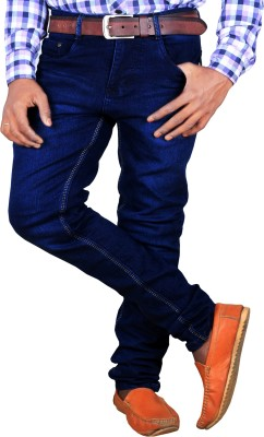 Lzard Regular Men's Blue Jeans