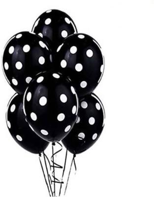 Yuvraj Creation Solid YC-B-1.118 Balloon(Black, Pack of 50)