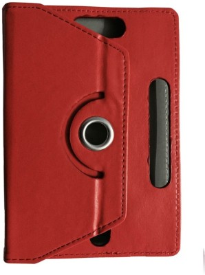 ABOUT THE FIT Book Cover for Lenovo A7-30 Tablet 8 Gb (Wifi 2G)(Red, Artificial Leather)
