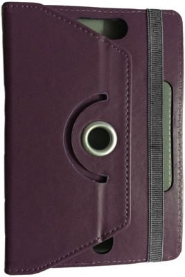 ABOUT THE FIT Book Cover for Lenovo A7-30 Tablet 8 Gb (Wifi 2G)(Purple, Artificial Leather)