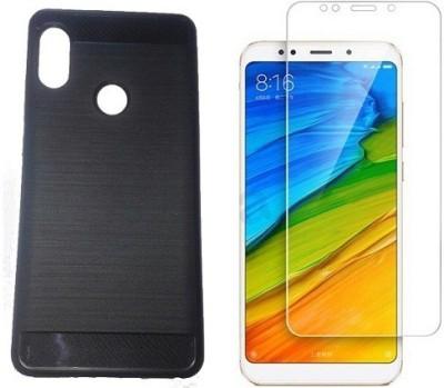 7Rocks Cover Accessory Combo for Xiaomi Redmi Note 5 Pro Black,Transparent