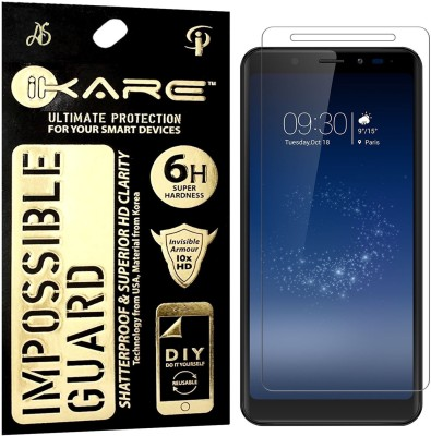 iKare Impossible Screen Guard for Micromax Canvas Infinity(Pack of 1)