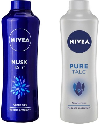 Nivea Original Pure and Musk Talc(800 g)